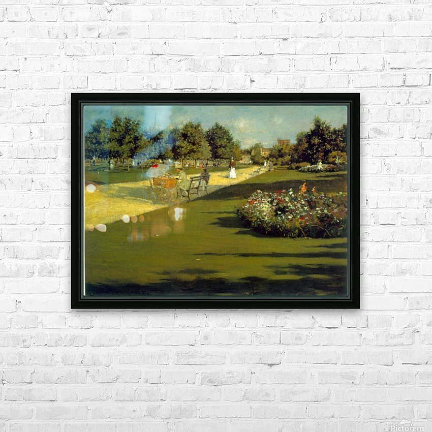 Prospect Park by Chase HD Sublimation Metal print with Decorating Float Frame (BOX)
