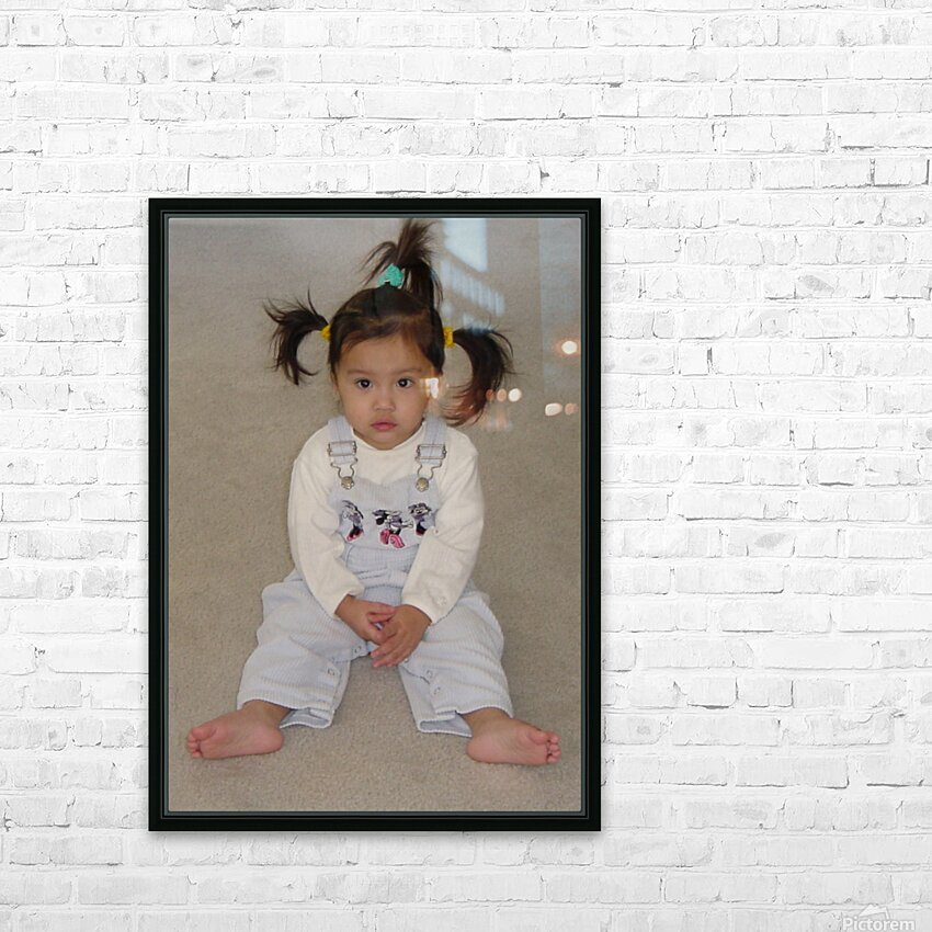 Cherub HD Sublimation Metal print with Decorating Float Frame (BOX)