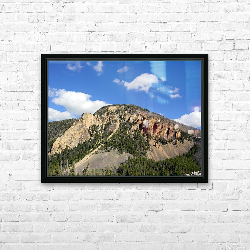 Yellowstone National Park 2 HD Sublimation Metal print with Decorating Float Frame (BOX)