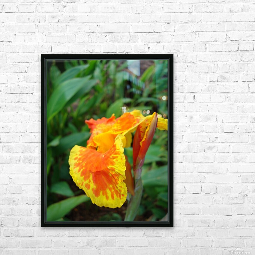 Floral Delight HD Sublimation Metal print with Decorating Float Frame (BOX)