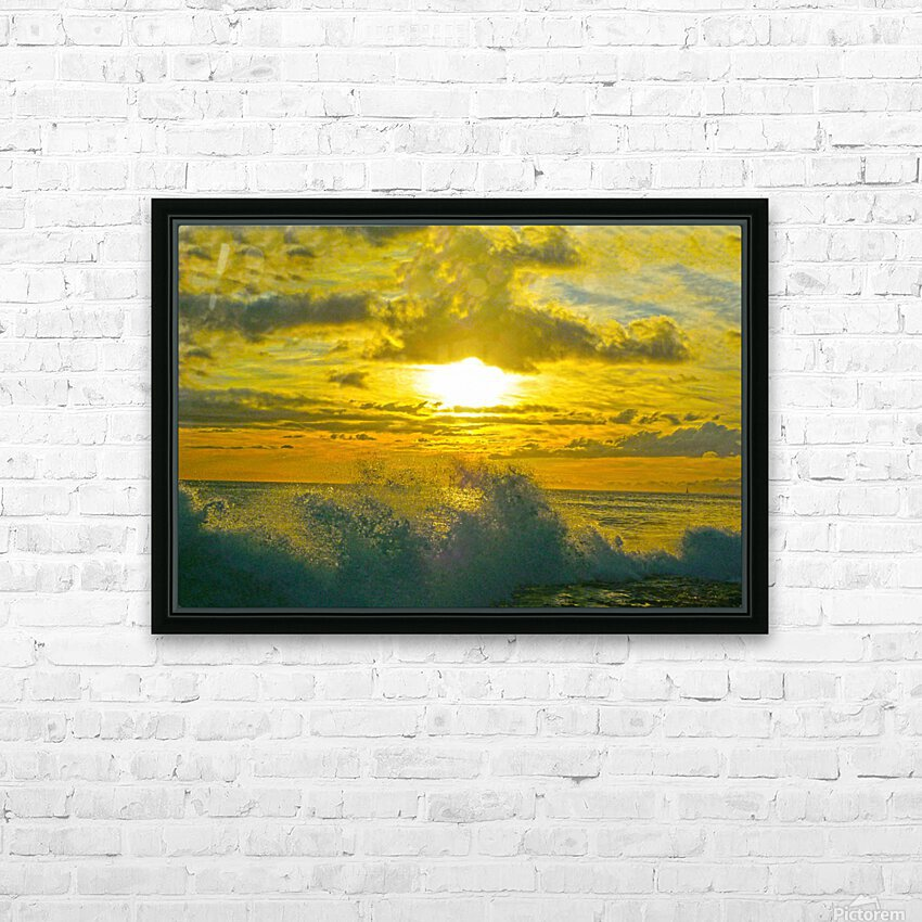 Surge HD Sublimation Metal print with Decorating Float Frame (BOX)