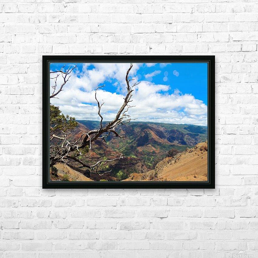 Wild Kauai 2 HD Sublimation Metal print with Decorating Float Frame (BOX)