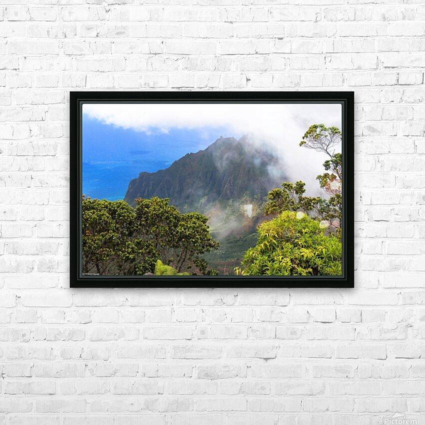 Wild Kauai 3 HD Sublimation Metal print with Decorating Float Frame (BOX)
