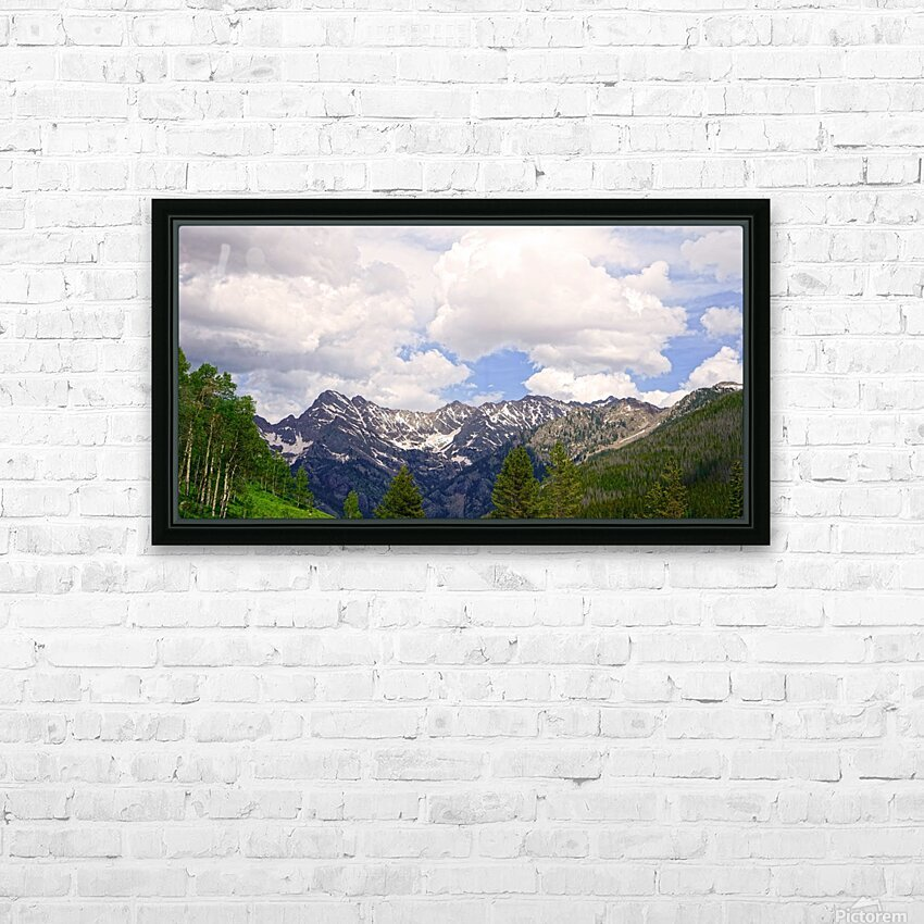 White River Country Colorado HD Sublimation Metal print with Decorating Float Frame (BOX)