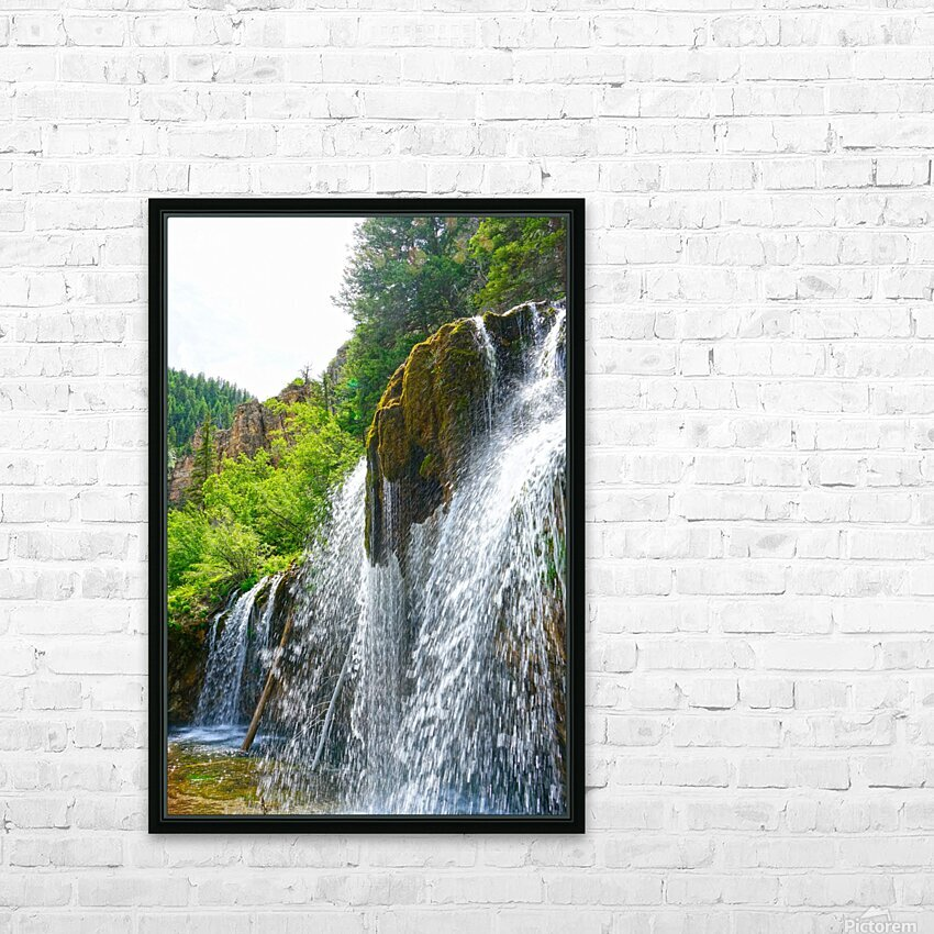 Wild Back Country HD Sublimation Metal print with Decorating Float Frame (BOX)