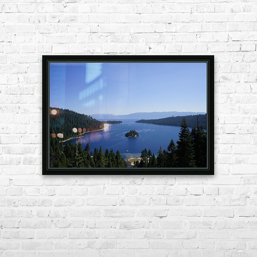 Top of the Lake HD Sublimation Metal print with Decorating Float Frame (BOX)
