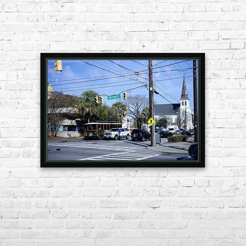 Snapshot in Time Charleston 1 of 5 HD Sublimation Metal print with Decorating Float Frame (BOX)