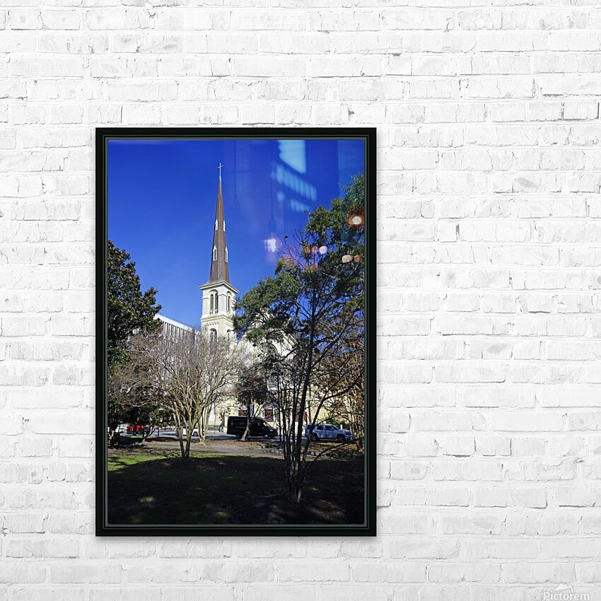 Snapshot in Time Charleston 2 of 5 HD Sublimation Metal print with Decorating Float Frame (BOX)