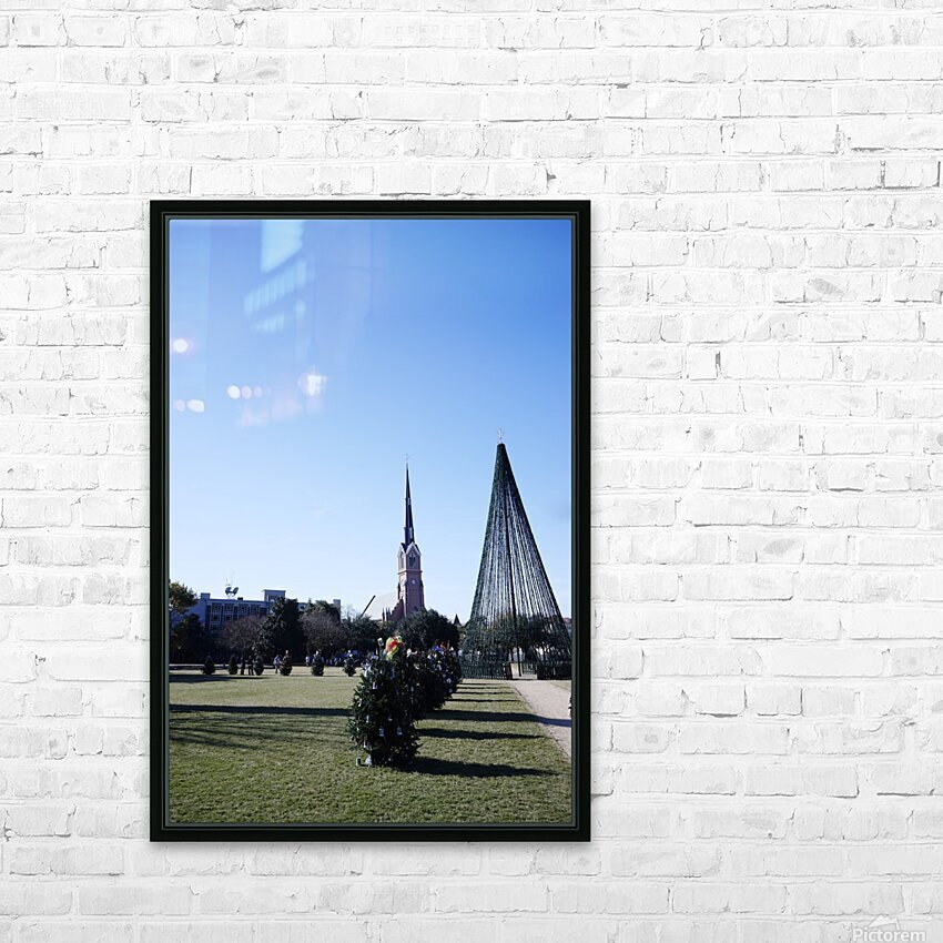 Snapshot in Time Charleston 5 of 5 HD Sublimation Metal print with Decorating Float Frame (BOX)