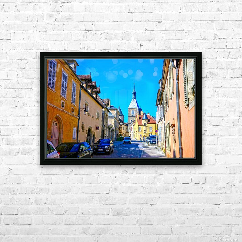 Secret Avallon 1 of 6 HD Sublimation Metal print with Decorating Float Frame (BOX)