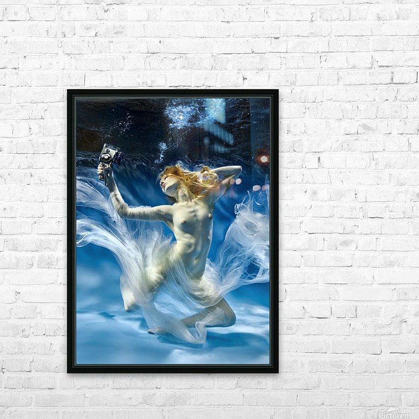 Aqua-Theatre HD Sublimation Metal print with Decorating Float Frame (BOX)