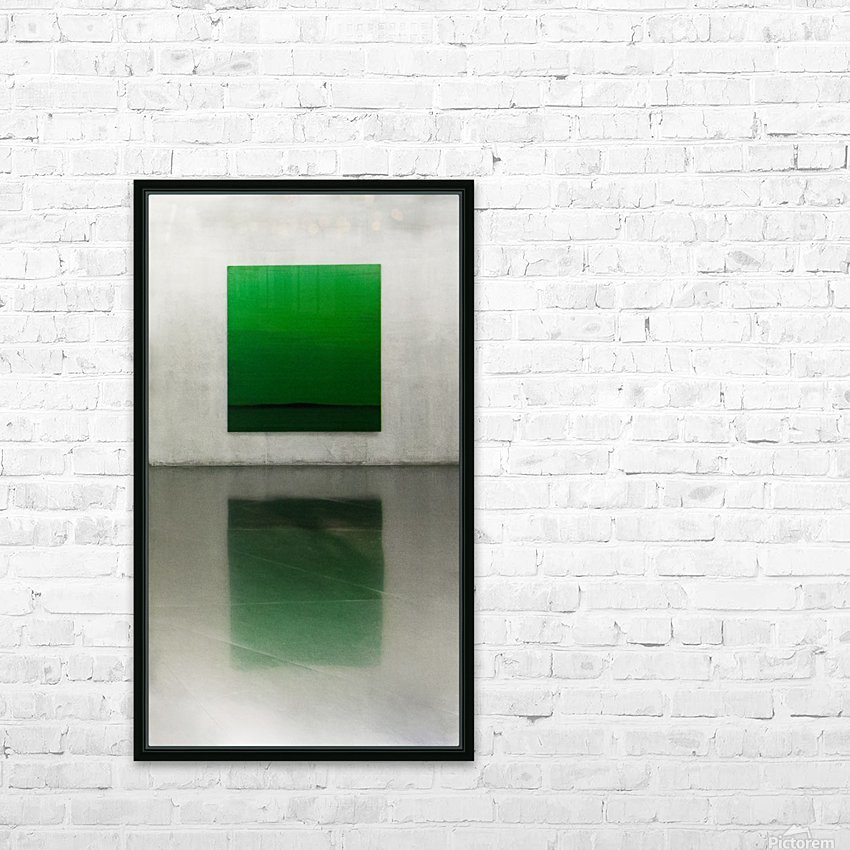 Green by Toni Guerra  HD Sublimation Metal print with Decorating Float Frame (BOX)