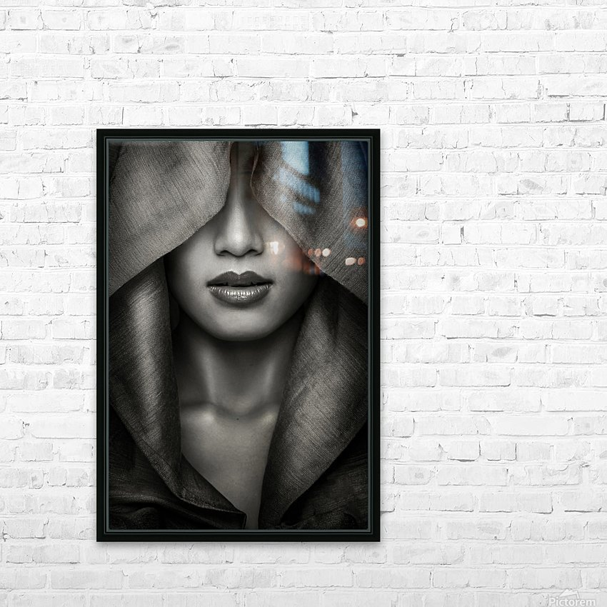 Hood by azalaka   HD Sublimation Metal print with Decorating Float Frame (BOX)