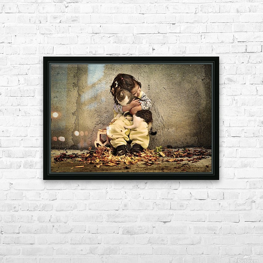 Untitled by Iacob Anca  HD Sublimation Metal print with Decorating Float Frame (BOX)