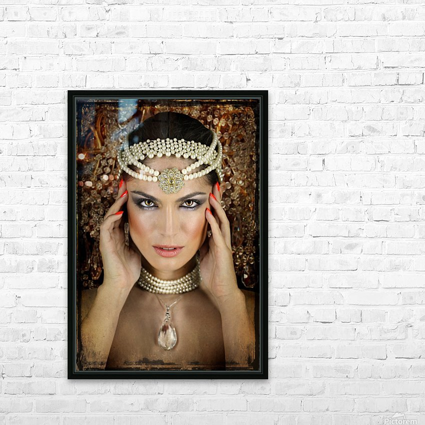 Quelia by DDiArte   HD Sublimation Metal print with Decorating Float Frame (BOX)