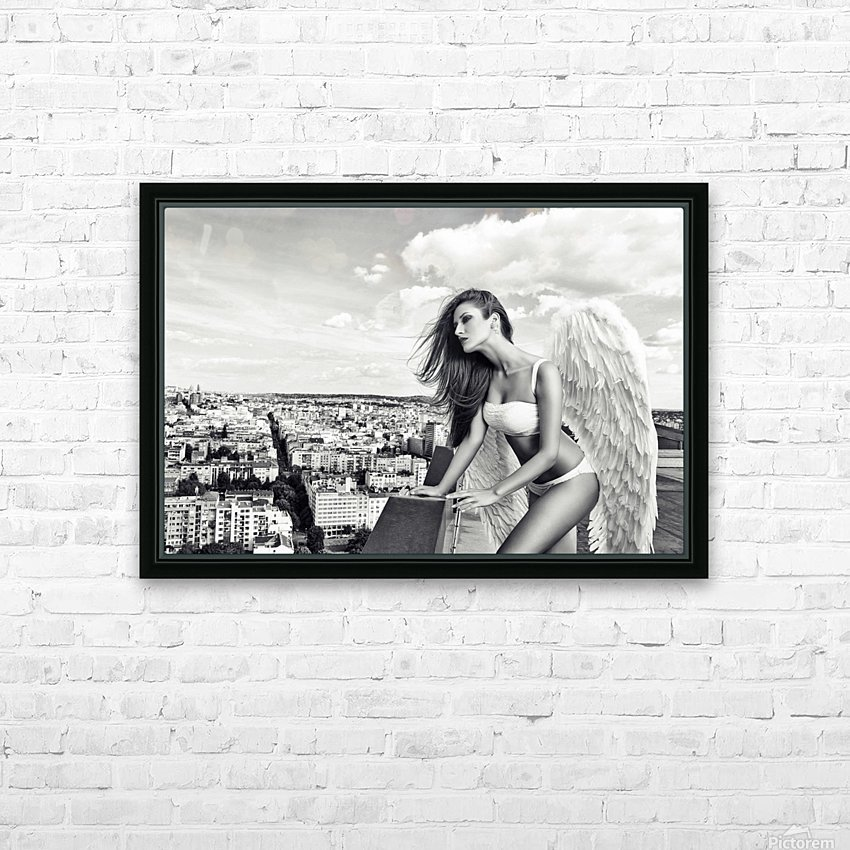 Angel HD Sublimation Metal print with Decorating Float Frame (BOX)