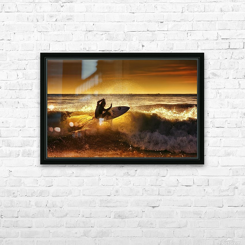 Front side by Marco Petracci  HD Sublimation Metal print with Decorating Float Frame (BOX)