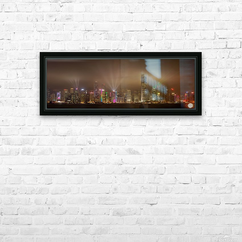 Hong Kong Island by Daniel Murphy  HD Sublimation Metal print with Decorating Float Frame (BOX)
