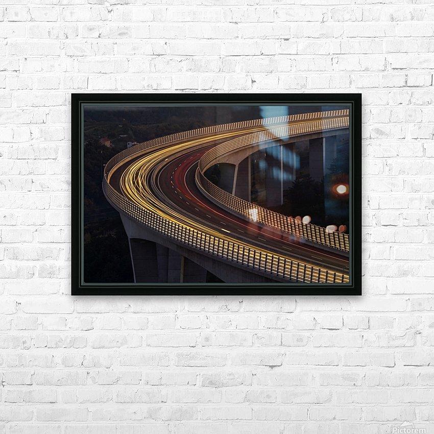 Viadukt AŒrni Kal by Jaka Ivancic  HD Sublimation Metal print with Decorating Float Frame (BOX)