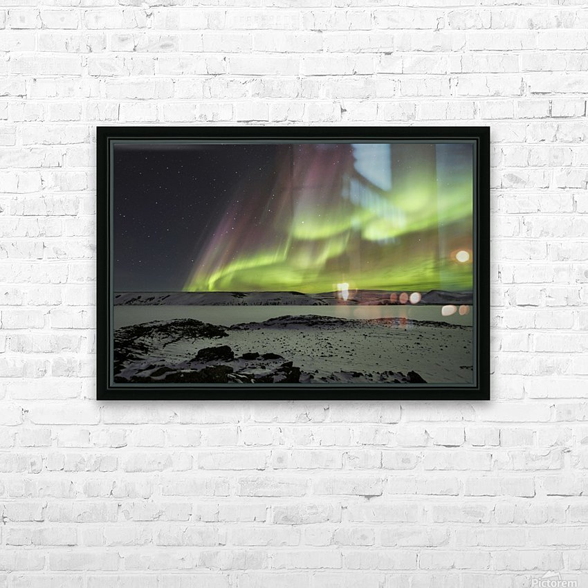 Celestial by Bragi Ingibergsson - HD Sublimation Metal print with Decorating Float Frame (BOX)