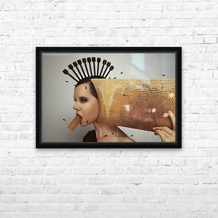 Beekeeping 2073 HD Sublimation Metal print with Decorating Float Frame (BOX)