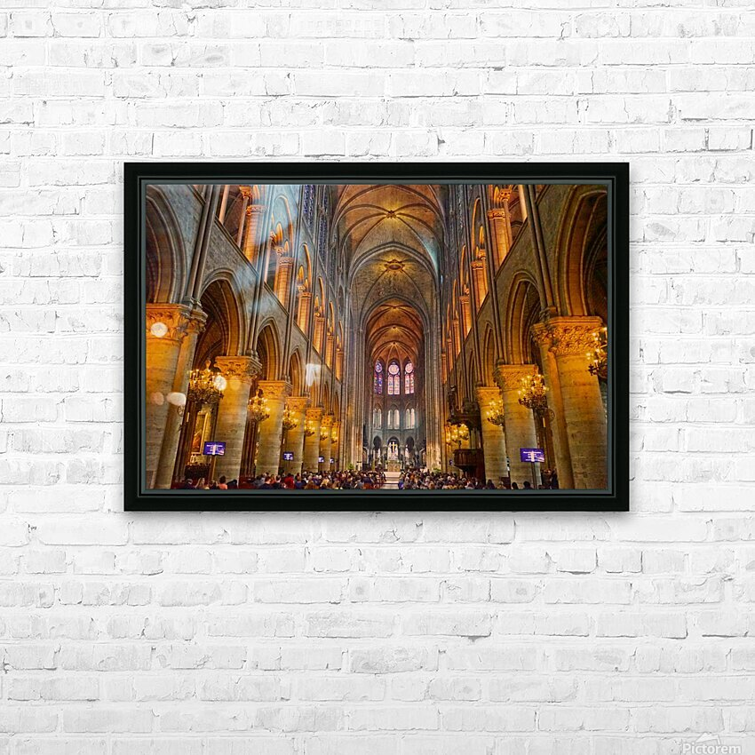Saint Croix Cathedral France HD Sublimation Metal print with Decorating Float Frame (BOX)