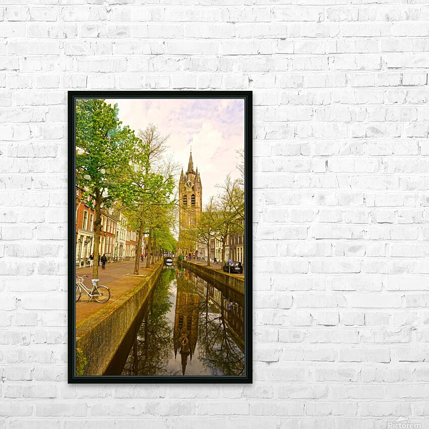 A Dream of the Netherlands 1 of 4 HD Sublimation Metal print with Decorating Float Frame (BOX)