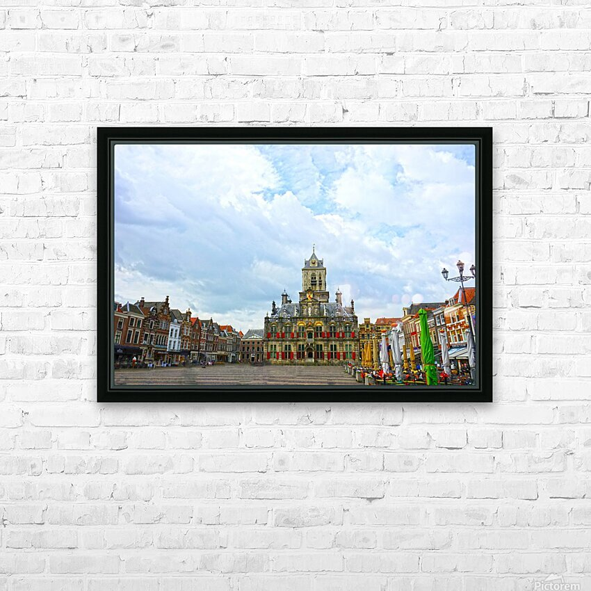 A Dream of the Netherlands 2 of 4 HD Sublimation Metal print with Decorating Float Frame (BOX)