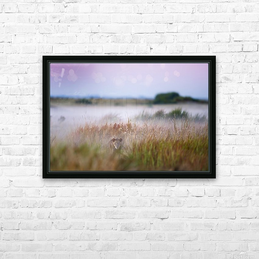 Hide and seek HD Sublimation Metal print with Decorating Float Frame (BOX)