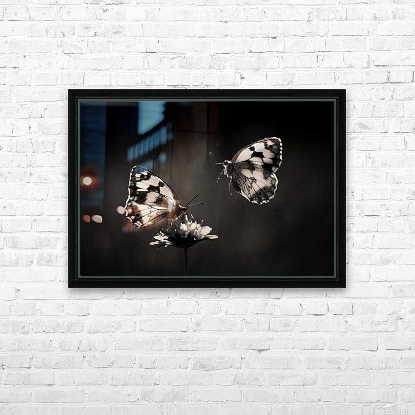 Medioluto norteA±a HD Sublimation Metal print with Decorating Float Frame (BOX)