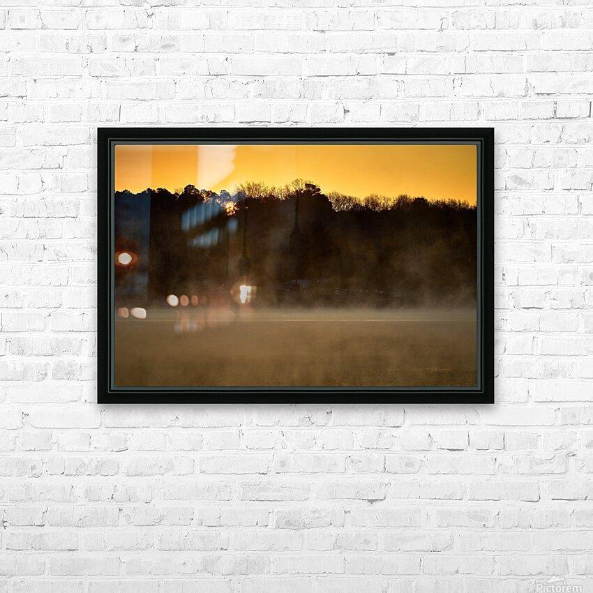 Sunrise at Langley Pond Park   Aiken SC 7R301594 12 19 20 HD Sublimation Metal print with Decorating Float Frame (BOX)