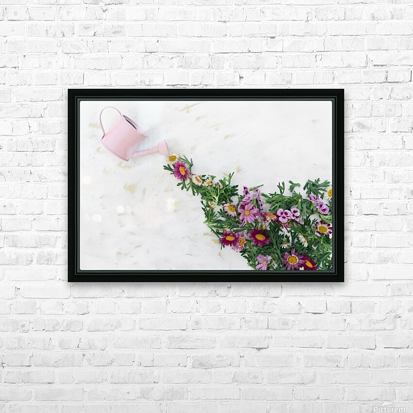 Daltana Spring Griall HD Sublimation Metal print with Decorating Float Frame (BOX)