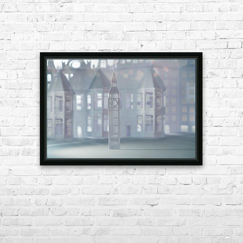 Daltana Pastel London Lindora HD Sublimation Metal print with Decorating Float Frame (BOX)