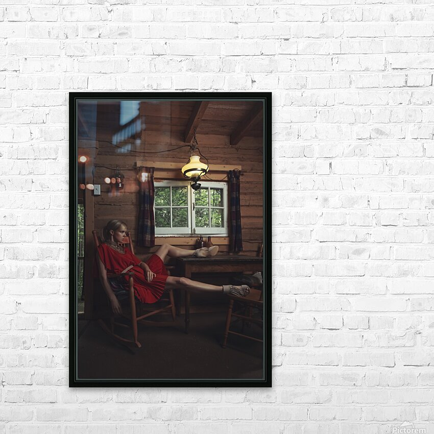 Chic Shack V HD Sublimation Metal print with Decorating Float Frame (BOX)