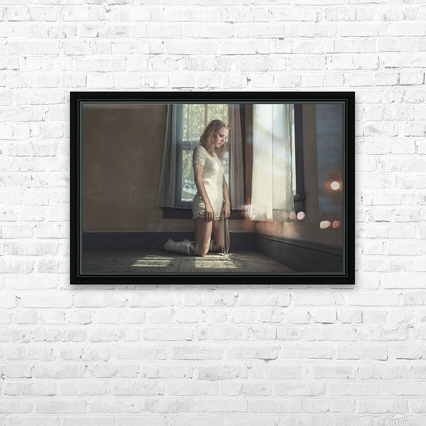 The Sanctuary V HD Sublimation Metal print with Decorating Float Frame (BOX)