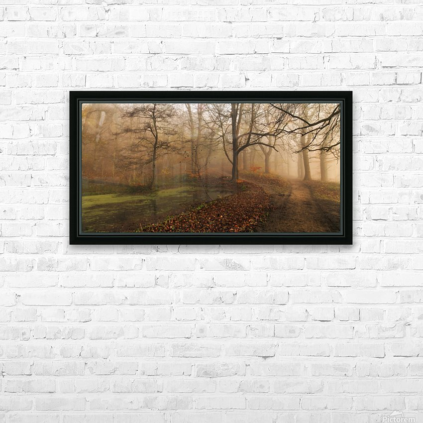 Which Path II HD Sublimation Metal print with Decorating Float Frame (BOX)