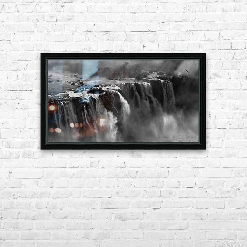Demonstration of Power by Zan Zhang  HD Sublimation Metal print with Decorating Float Frame (BOX)