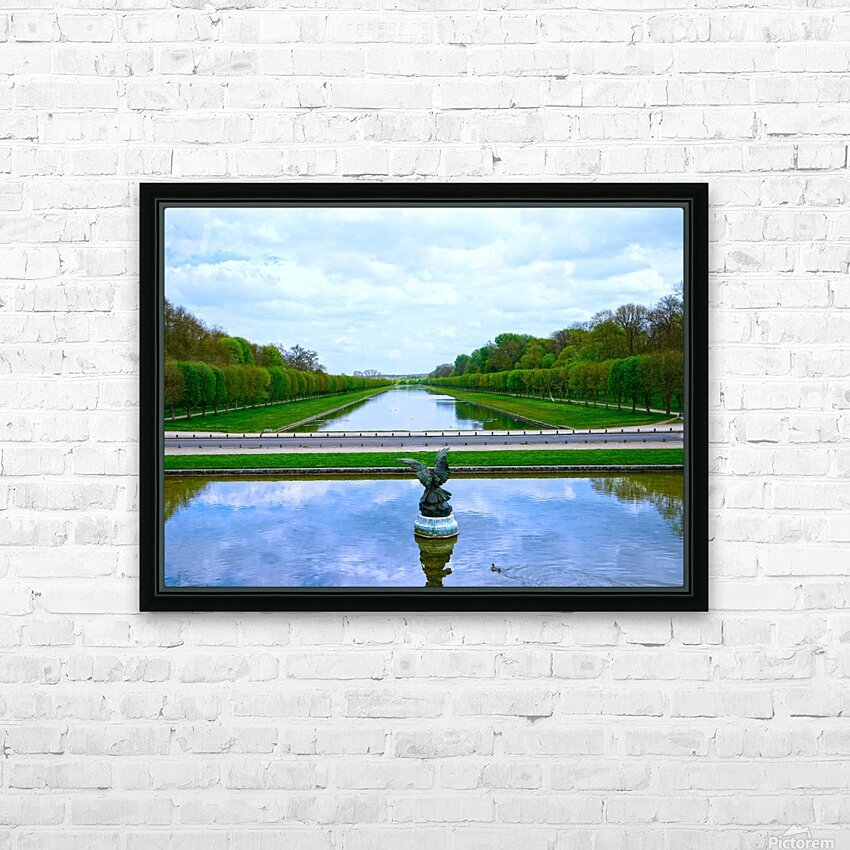 A View for Kings Chateaus of France HD Sublimation Metal print with Decorating Float Frame (BOX)
