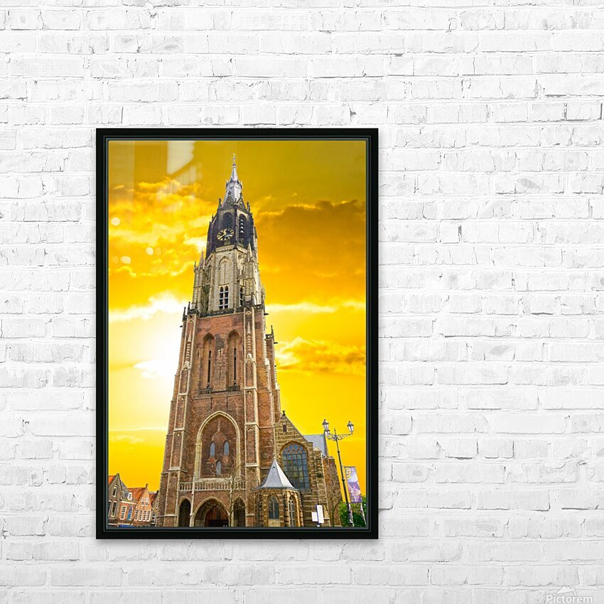 A Dream of the Netherlands 4 of 4 HD Sublimation Metal print with Decorating Float Frame (BOX)