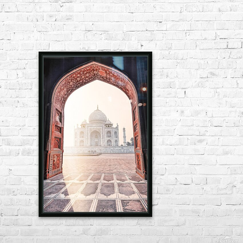 Morning light HD Sublimation Metal print with Decorating Float Frame (BOX)