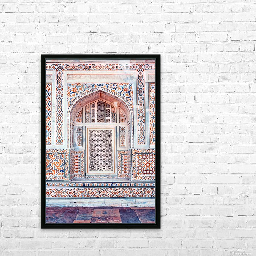 Rajasthan Architecture HD Sublimation Metal print with Decorating Float Frame (BOX)