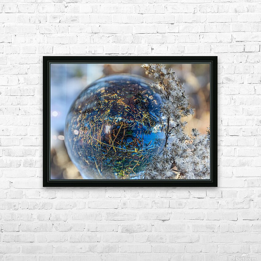 Feuillage HD Sublimation Metal print with Decorating Float Frame (BOX)