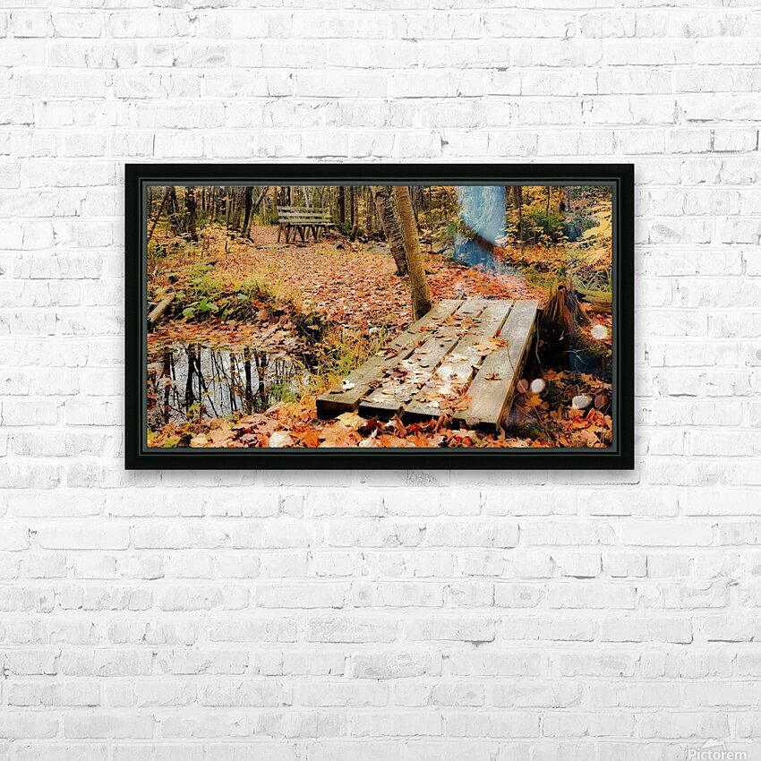 Passage oblige   HD Sublimation Metal print with Decorating Float Frame (BOX)