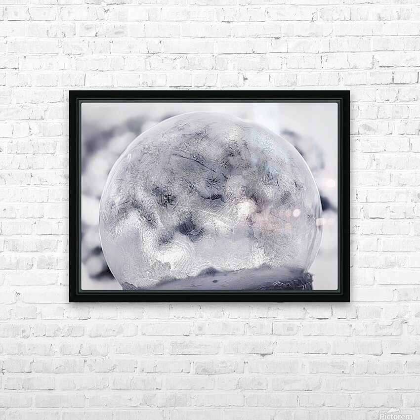 Givre HD Sublimation Metal print with Decorating Float Frame (BOX)