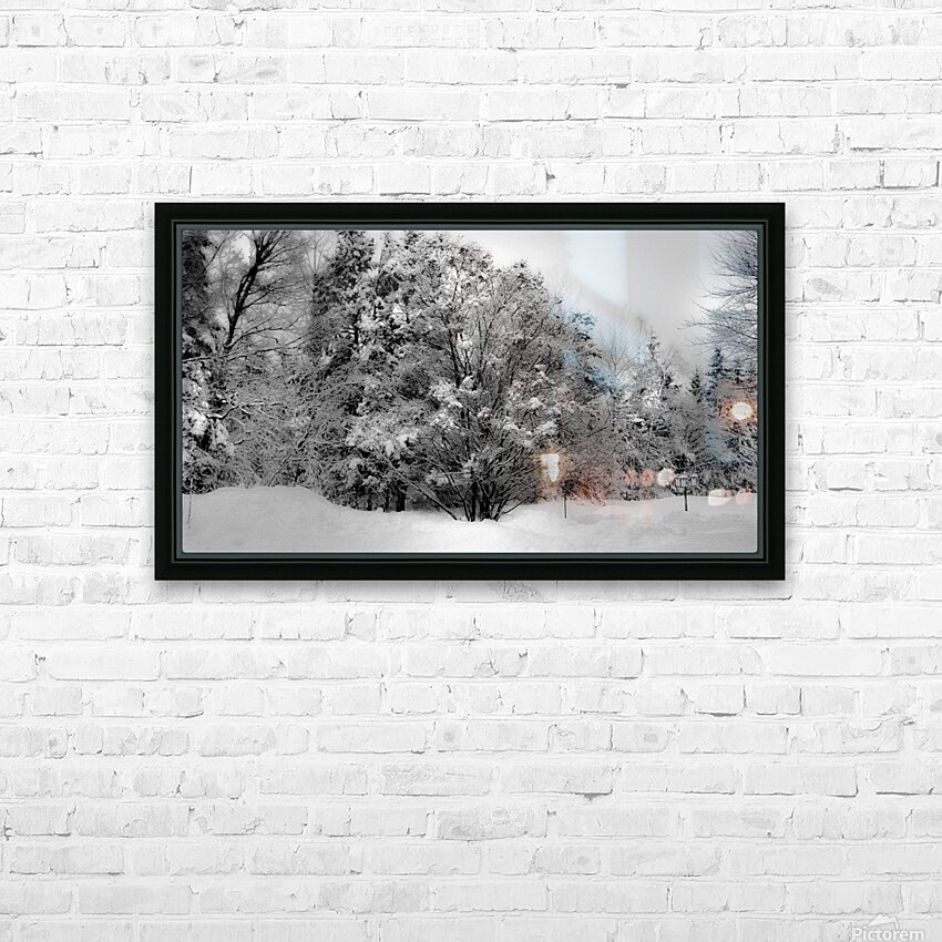 Obscur HD Sublimation Metal print with Decorating Float Frame (BOX)