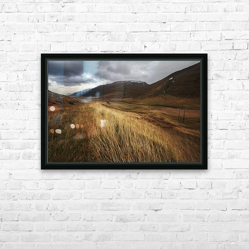 Autumnal HD Sublimation Metal print with Decorating Float Frame (BOX)