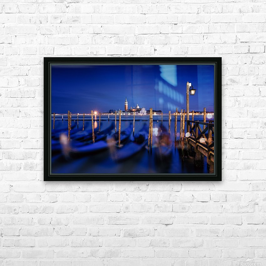 San Giorgio Maggiore Island, Venice by Photography by Karen HD Sublimation Metal print with Decorating Float Frame (BOX)