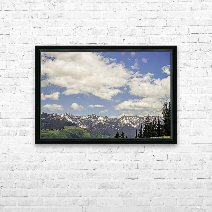 Back Country Colorado 5 of 8 HD Sublimation Metal print with Decorating Float Frame (BOX)