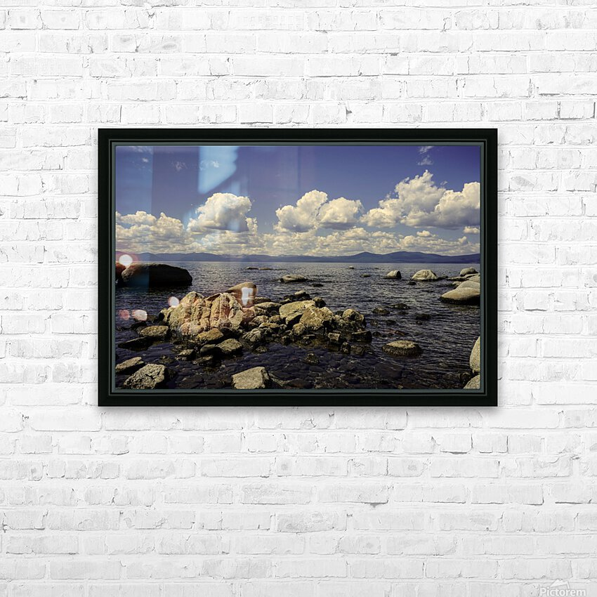 Majestic View HD Sublimation Metal print with Decorating Float Frame (BOX)
