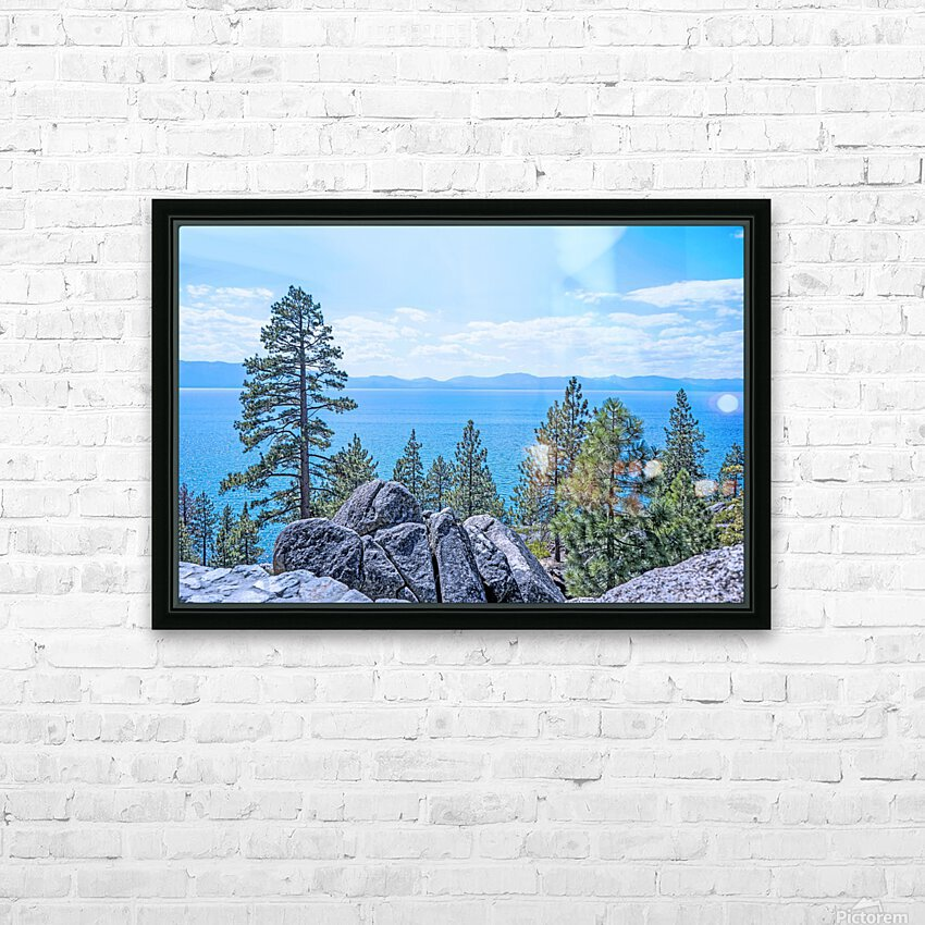 To the Horizon HD Sublimation Metal print with Decorating Float Frame (BOX)